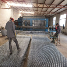 PVC coated hexagonal gabion gabion boxes for river