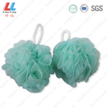New color durable sponge bath ball