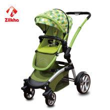 Poussette bébé avec cadre + siège régulier