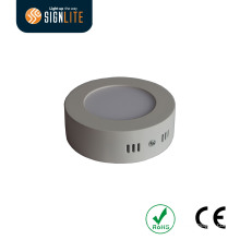 Superfície montada teto redondo 6W LED Downlight / LED Down Light