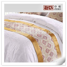 100% полиэстер жаккардовые ткани 5-звездочный отель используется высококачественный Bed Runner