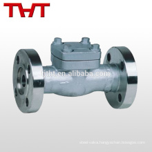 "professional produce API forged steel 1/4"" inline check valve fuel price"