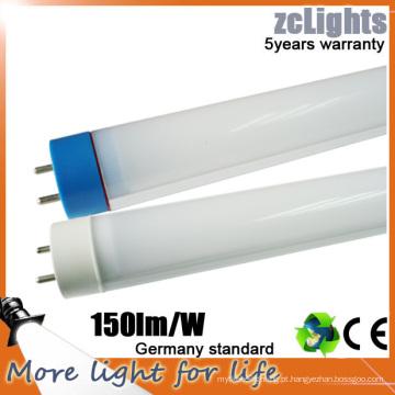 Lâmpada fluorescente de alta luminância T8 LED tubo de LED