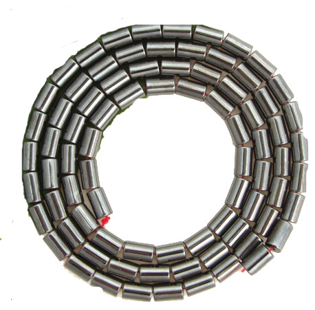 Perles Tube Hématite 3X5MM
