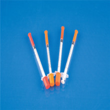 Disposable Medical Insulin Syringe for Single Use (CE, ISO, GMP, SGS, TUV)