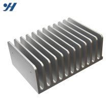Dissipadores de calor de alumínio do perfil redondo da extrusão 6063 t5 para conduzido
