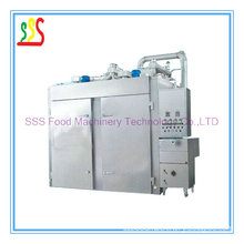 Smoked Furnace (SSS-500I/1000I) /Automatic Smoking Oven with Automatic Touch Screen