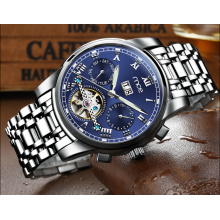wholesale custom chronograph logo mens watch