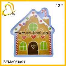 House shaped melamine plate, melamine plate, candy plate