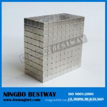 Superior Block Magnet with Nickel Coating
