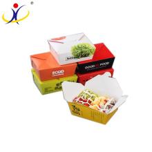 Подгонянный Цвет!Китай производство профессиональный прекрасный Eco содружественная напечатанная упаковка еды бумаги коробки торта