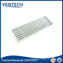Sistemas de climatización Ventilación Aluminio Lineal Bar Grille