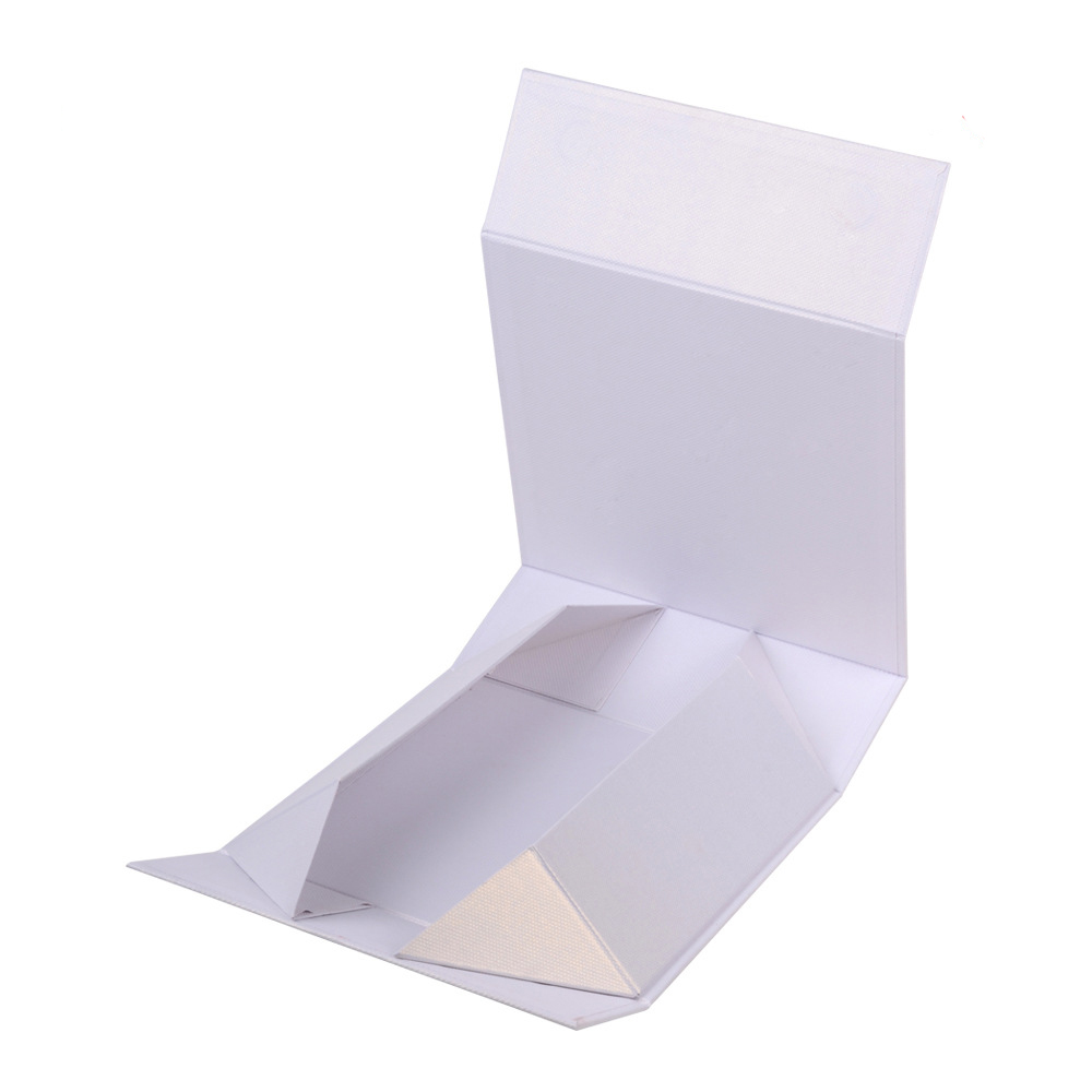 Collapsible Paper Rigid Gift Box With Magnet Closure