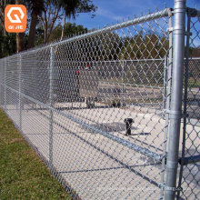 ASTM A392 wholesale 8 foot galvanized  gates fittings post 36 inch chain link fence for industrial property