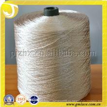 FDY, China 100% hilo de poliéster 1200D principalmente para hacer la alfombra y el cordón de la cortina