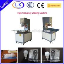 Hochfrequenz-LED-Lampen Papierkarte Blister Verpackungsmaschine
