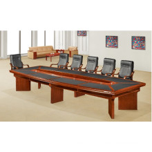 Boardroom Meeting Room Antique Big Long Conference Desk