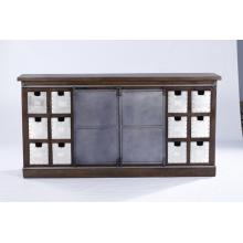 Beste Qualität New Range Moderne hölzerne Wohnzimmer Schublade Brust