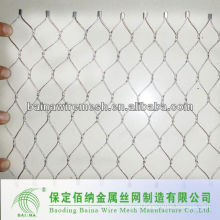 security hand woven stainless steel wire mesh made in china