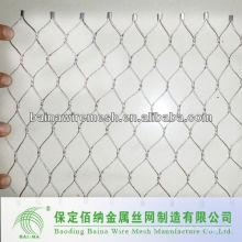 Malha de arame de aço inoxidável de mão de segurança feita na China