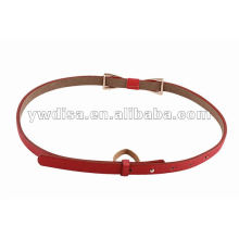 New Arrival Women PU Skinny Belt