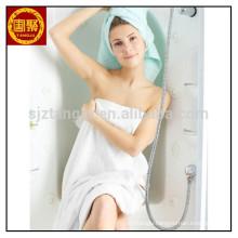 White quick-dry microfiber bath towel hotel bath towel in towel for wholesale