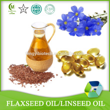 Flaxseed Oil 500 mg 50 Softgels - Organic Food supplement