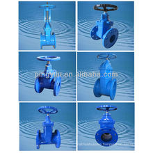 jis 10k cast iron gate valve dn100 drawing made in china