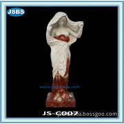 Cheap Man Made Stone Carvings And Sculptures Of Beautiful Girl