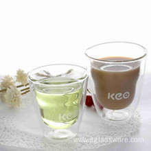 320ml Mugs With Two Wall Glasswares