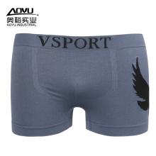 OEM оптовые пользовательские серые мужские шорты боксер