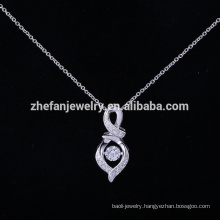 crystal perfect pendant necklace