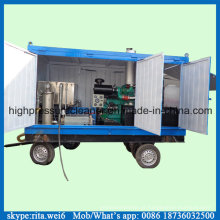 1000bar móveis industriais alta pressão água desentupidor