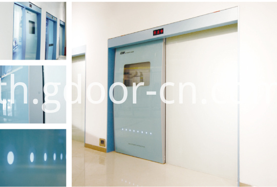 Ningbo GDoor Hospital Hermetic Sliding Door Operators