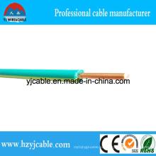 Зеленый и желтый ПВХ куртки Single Cable