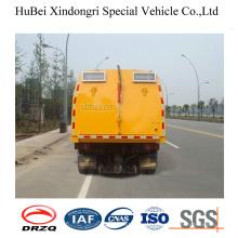3cbm Jmc Isuzu Euro3 Compact Road Sweeper Truck