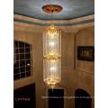 Современные модные люстры кристаллов подвесные светильники спираль кристалл люстра для дома лестницы