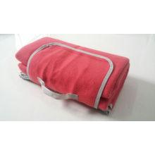 High Quality Picnic Blanket with Fleece / Fleece Blanket