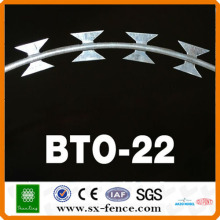 Anping razor barbed blade concertina wire military use