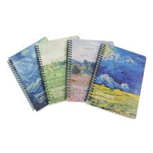 A5 Spiral Notebook avec 68 feuilles intérieures