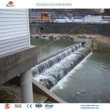 Широко используются надувные резиновые плотины Водосброса