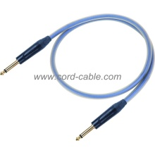 DBT Series Professional Instrument Guitar Cable Jack to Jack Blue