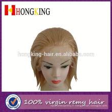 Perruque brésilienne de dentelle de cheveux humains de remy brésilien en vente faite en Chine