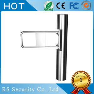 Supermarket Enter Exit Access Control Swing Gate