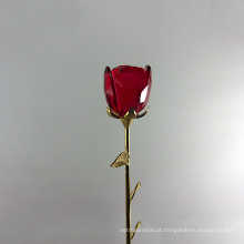 A flor de cristal a mais nova das flores artificiais aumentou para peças centrais do casamento