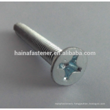 Flat Countersunk Philips Head Machine Screw