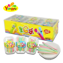 Wholesale  fruity flavor cc stick candy custom candy