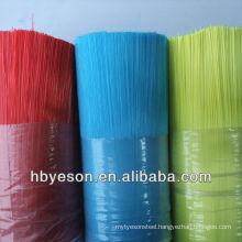 PET Filament plastic bristle/8cm-120cm PET mono-filament/prime quality PET mono- filament