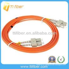 SC-SC MM Cordon de raccordement à fibre optique duplex