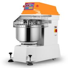 Powerful CE Brazil standard 50 liter bowl 15kg horizontal dough mixer spiral dough mixer heavy duty dough mixer machine